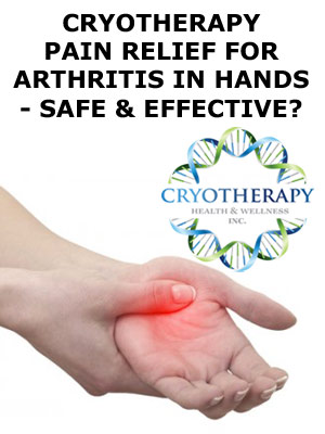 Pain Relief For Arthritis