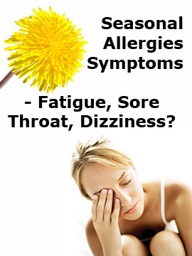 Seasonal Allergies Symptoms