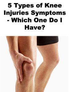 Types of Knee Injuries