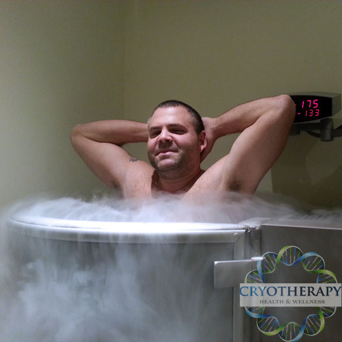 Cryotherapy Toronto treatment clients