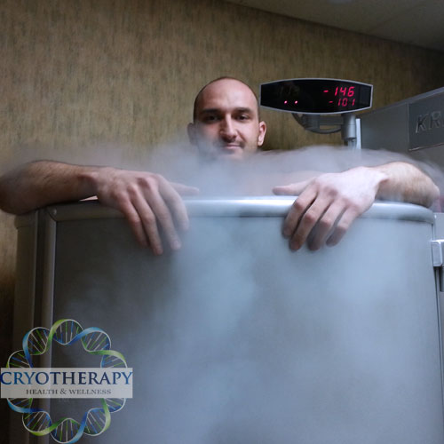 Cryotherapy Toronto whole body client