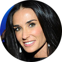 Demi Moore Cryotherapy