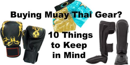 Muay Thai Gear